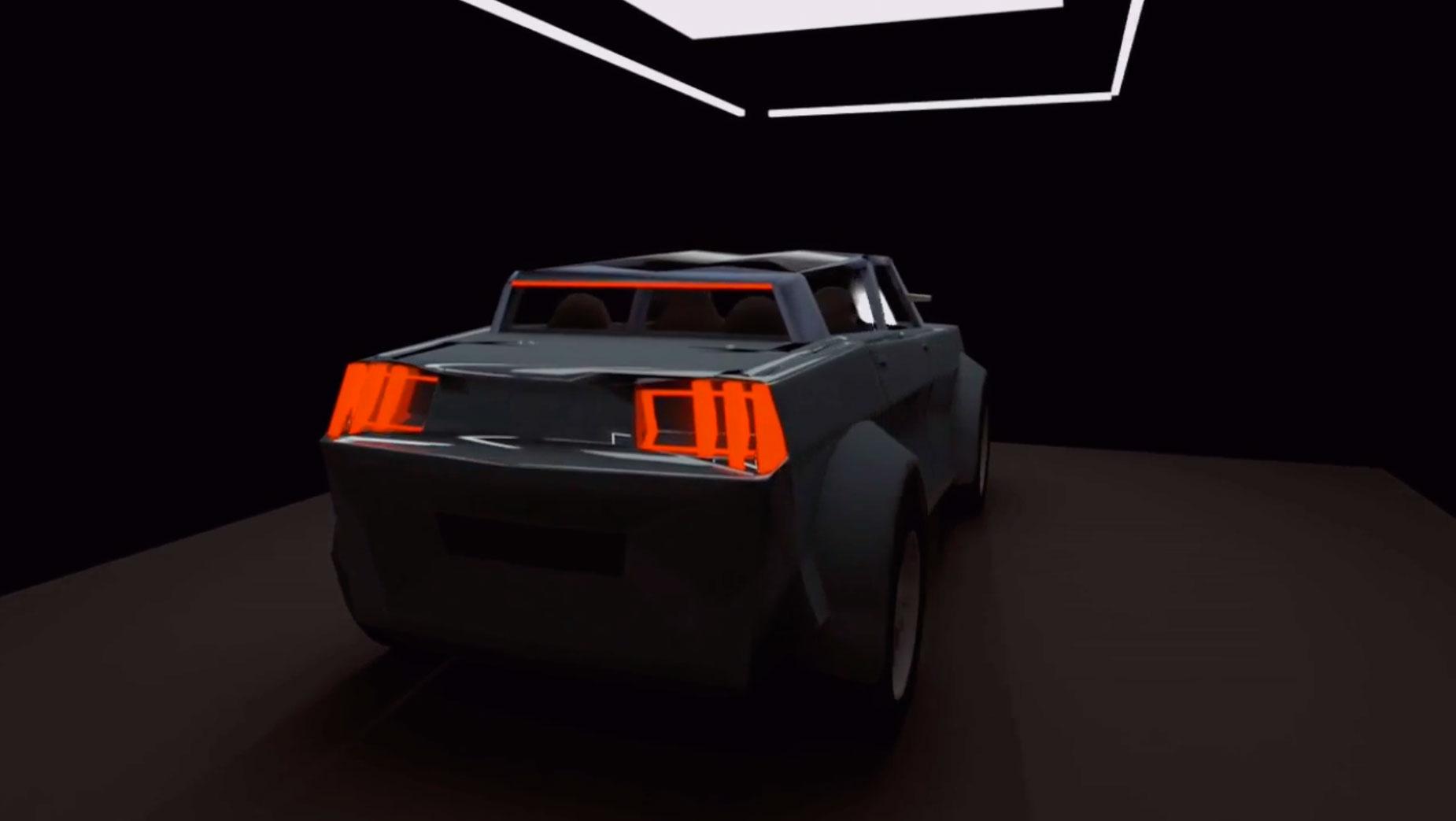 Concept électrique auto Solvejgdesign