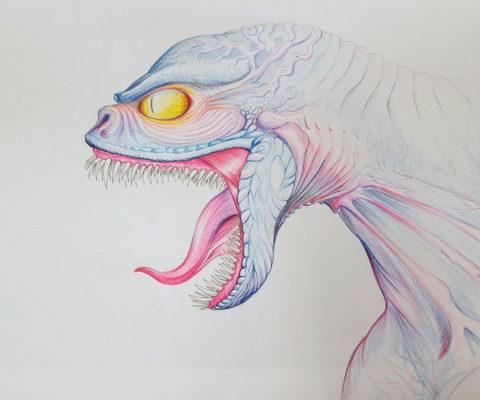 Croquis dinosaure - solvejgdesign